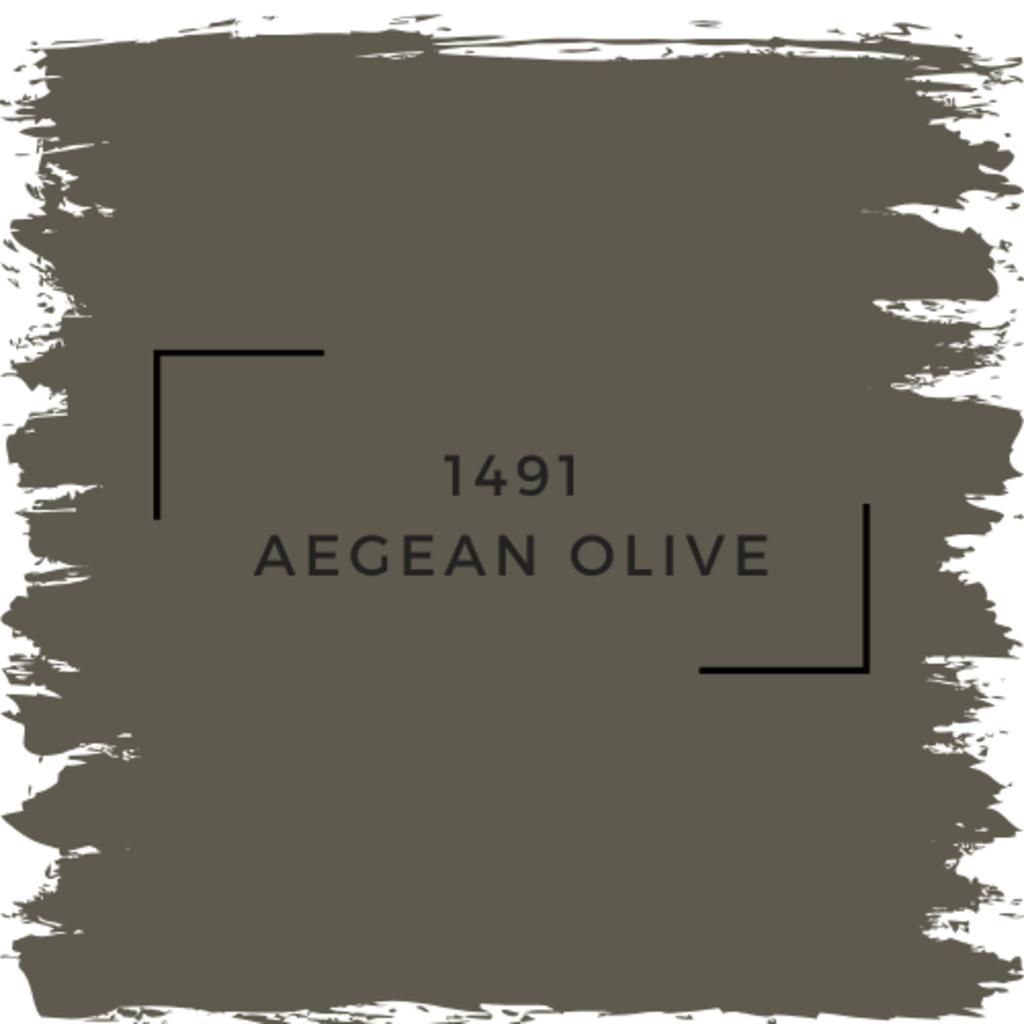 Benjamin Moore 1491 Aegean Olive