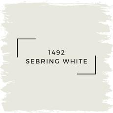 Benjamin Moore 1492 Sebring White