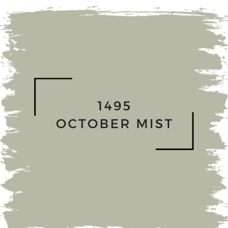 Benjamin Moore 1495 October Mist