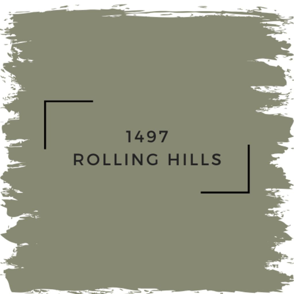 Benjamin Moore 1497 Rolling Hills