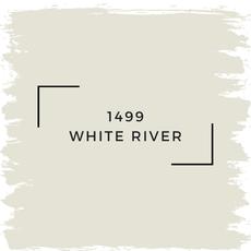 Benjamin Moore 1499 White River