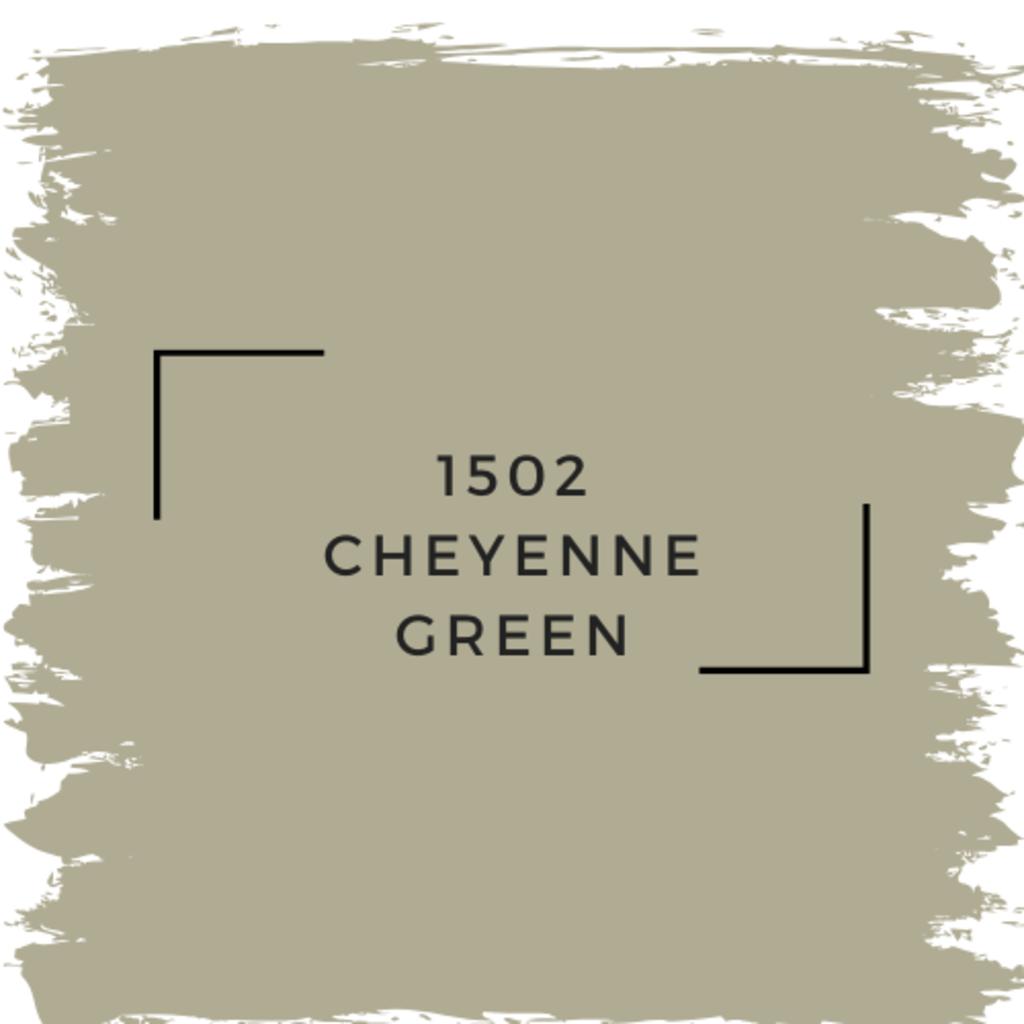 Benjamin Moore 1502 Cheyenne Green