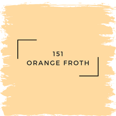 Benjamin Moore 151 Orange Froth