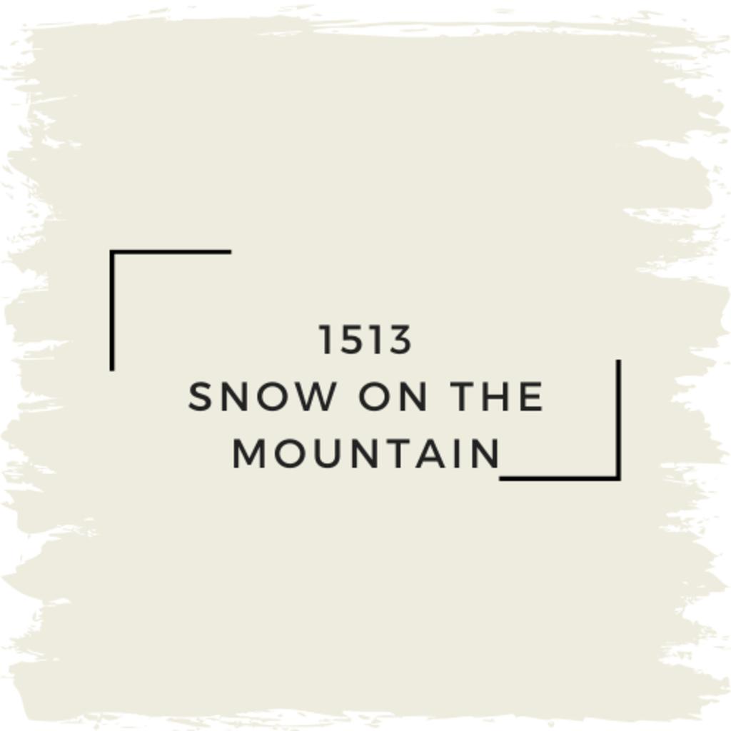 Benjamin Moore 1513 Snow On The Mountain