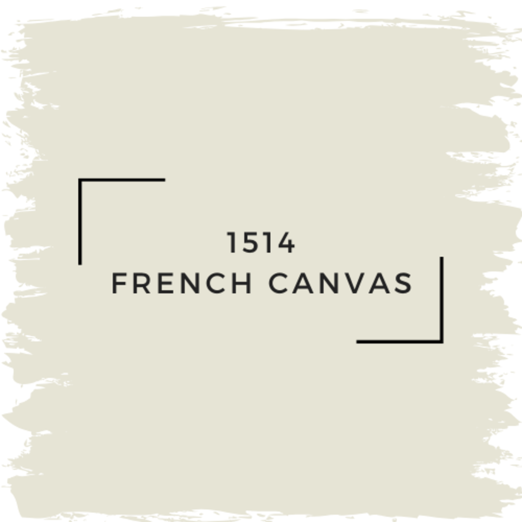 Benjamin Moore 1514 French Canvas