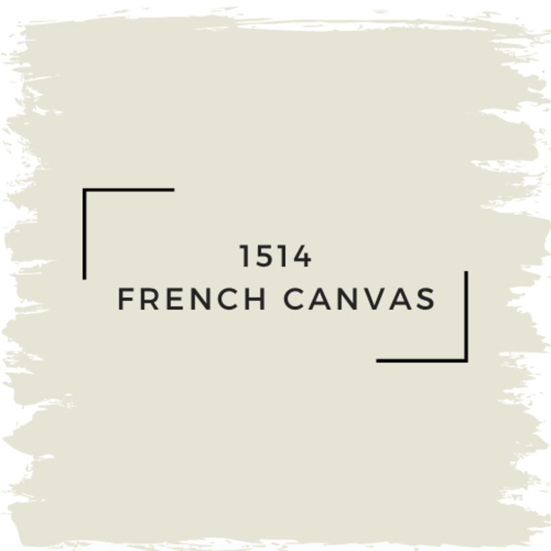Benjamin Moore 1514 French Canvas