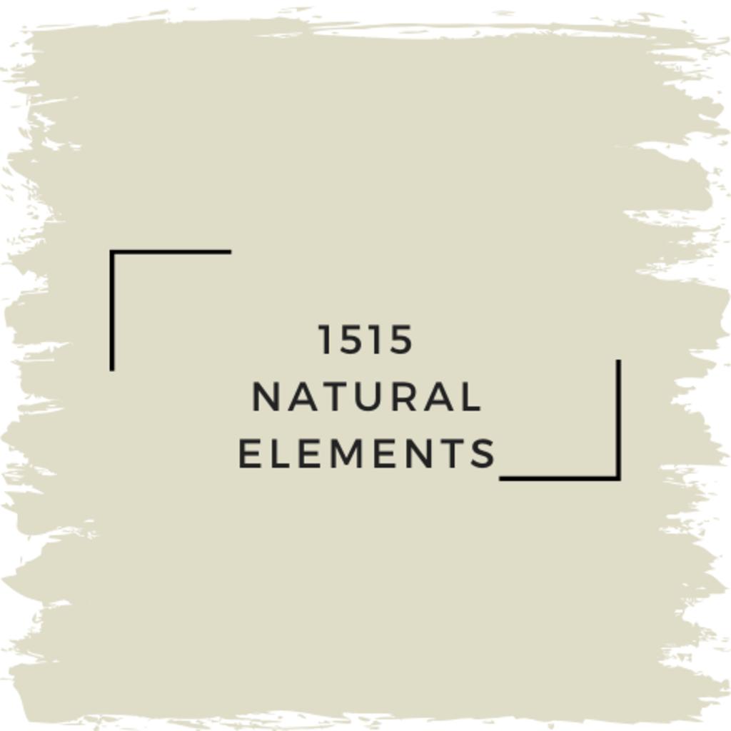 Benjamin Moore 1515 Natural Elements