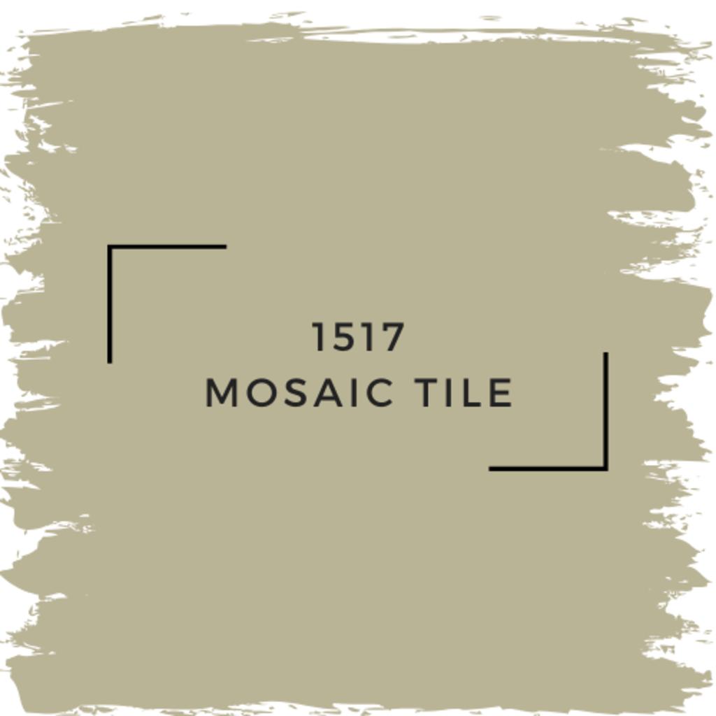 Benjamin Moore 1517 Mosaic Tile