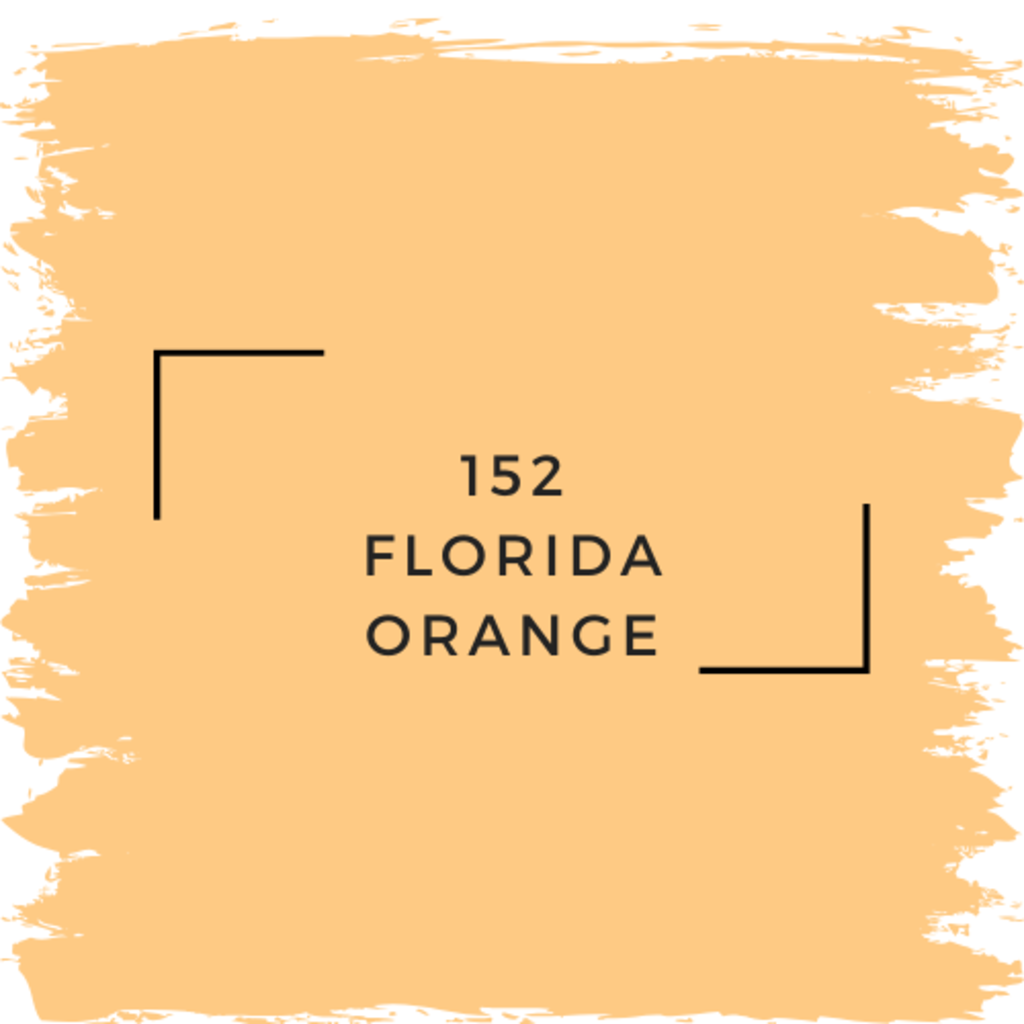 Benjamin Moore 152 Florida Orange