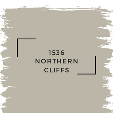 Benjamin Moore 1536 Northern Cliffs