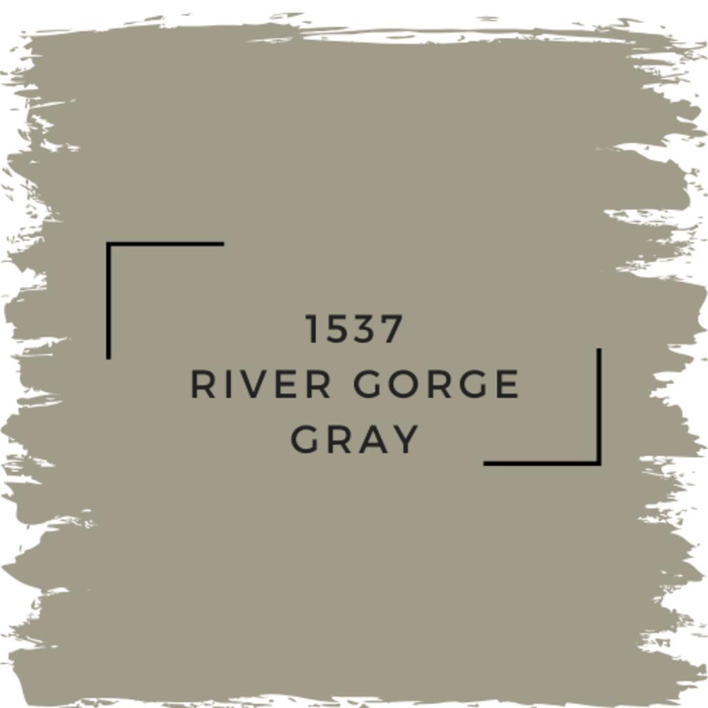 Benjamin Moore 1537 River Gorge Gray