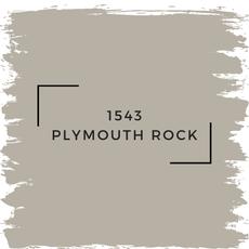 Benjamin Moore 1543 Plymouth Rock