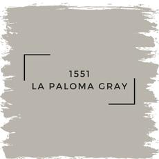 Benjamin Moore 1551 La Paloma Gray
