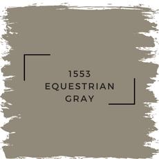 Benjamin Moore 1553 Equestrian Gray