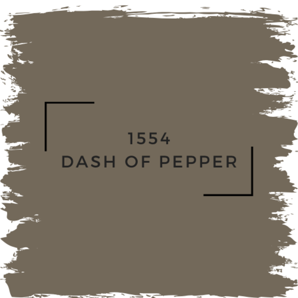Benjamin Moore 1554 Dash Of Pepper