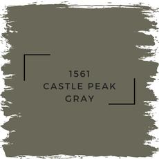 Benjamin Moore 1561 Castle Peak Gray