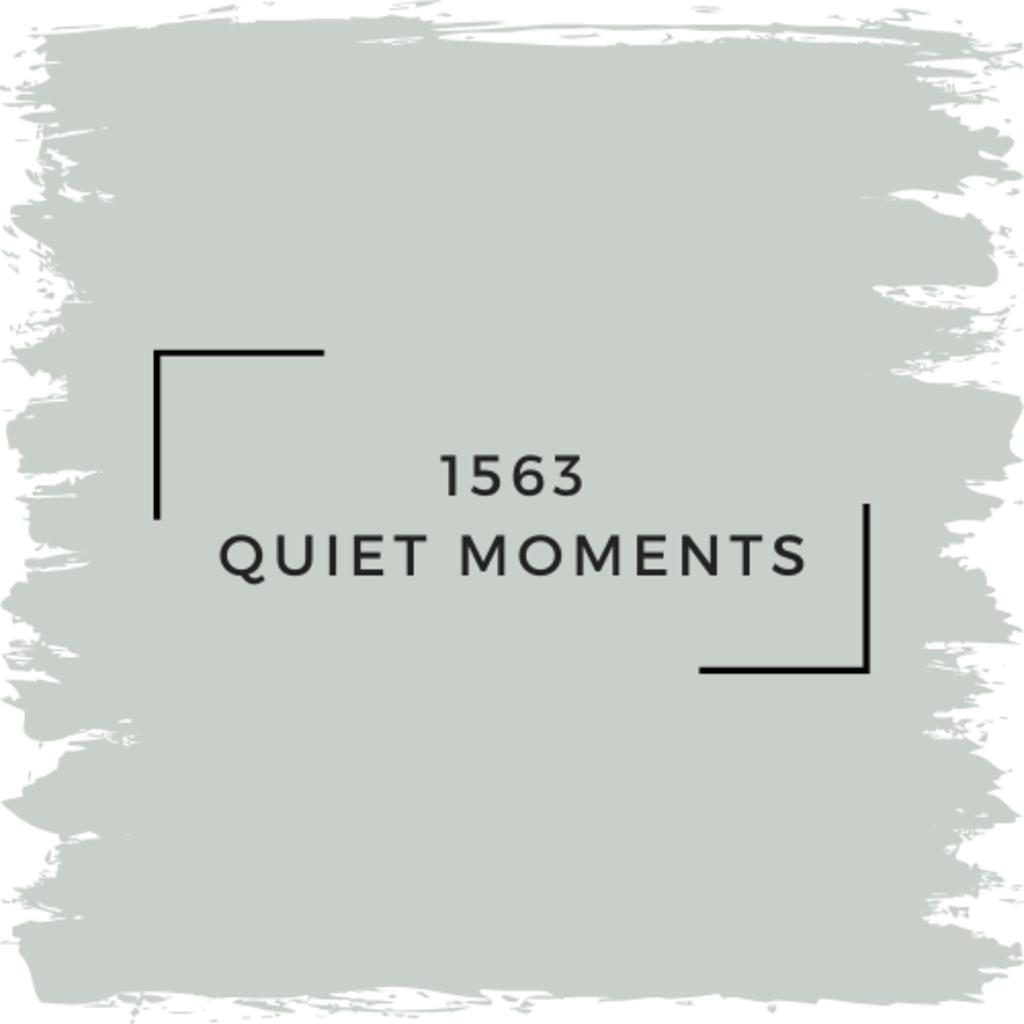 Benjamin Moore 1563 Quiet Moments