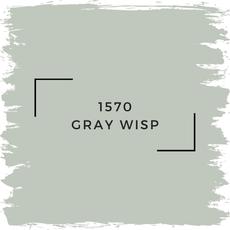 Benjamin Moore 1570 Gray Wisp