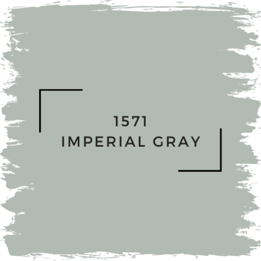 Benjamin Moore 1571 Imperial Gray