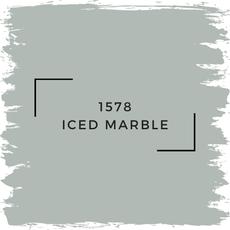 Benjamin Moore 1578 Iced Marble