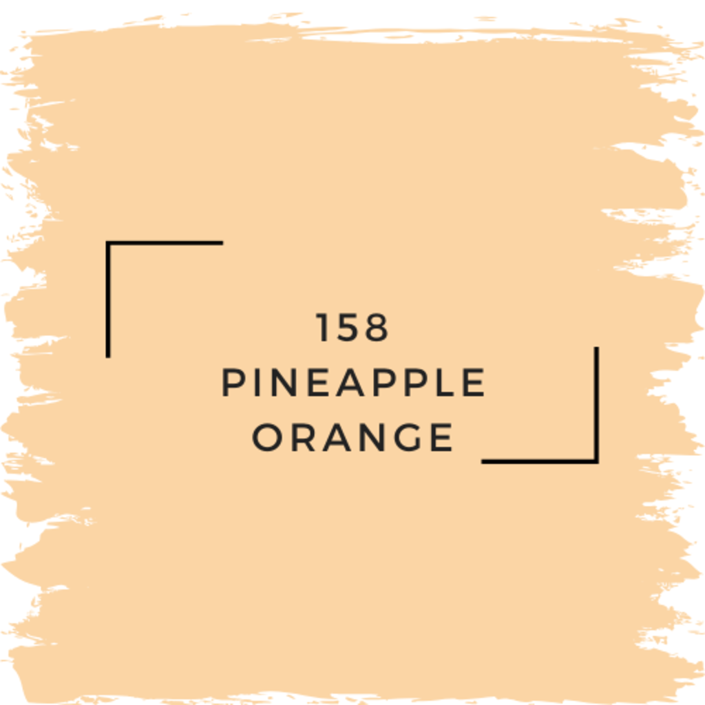 Benjamin Moore 158 Pineapple Orange