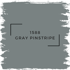 Benjamin Moore 1588 Gray Pinstripe