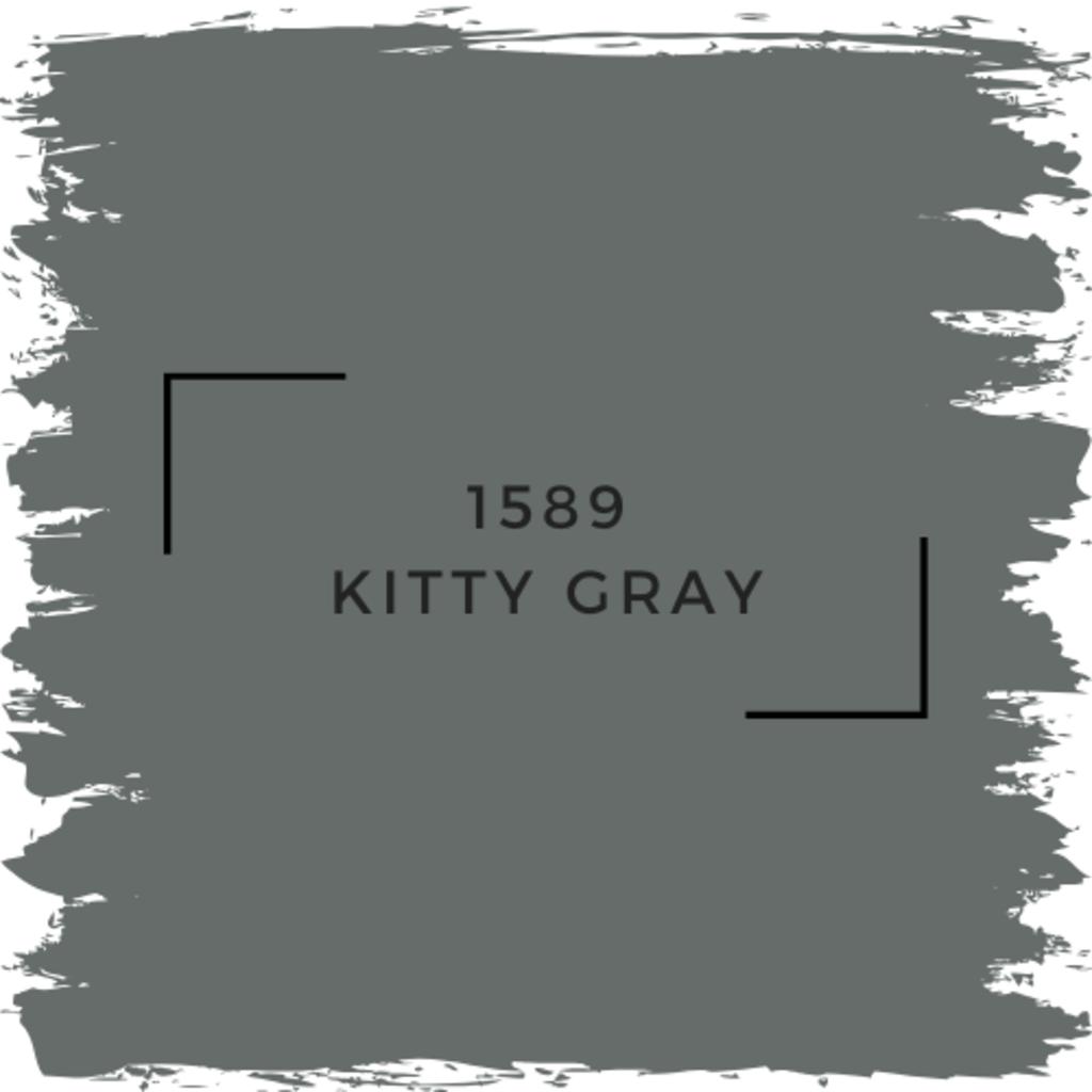 Benjamin Moore 1589 Kitty Gray