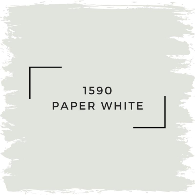Benjamin Moore 1590 Paper White
