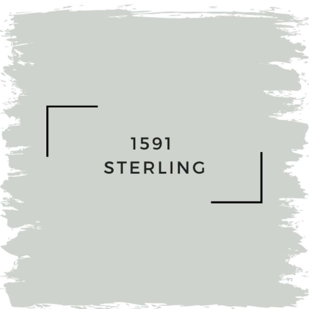 Benjamin Moore 1591 Sterling
