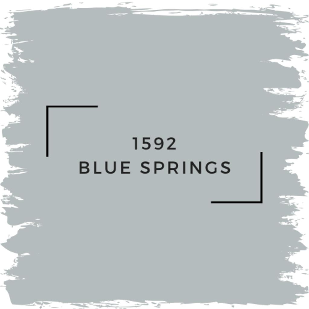 Benjamin Moore 1592 Blue Springs