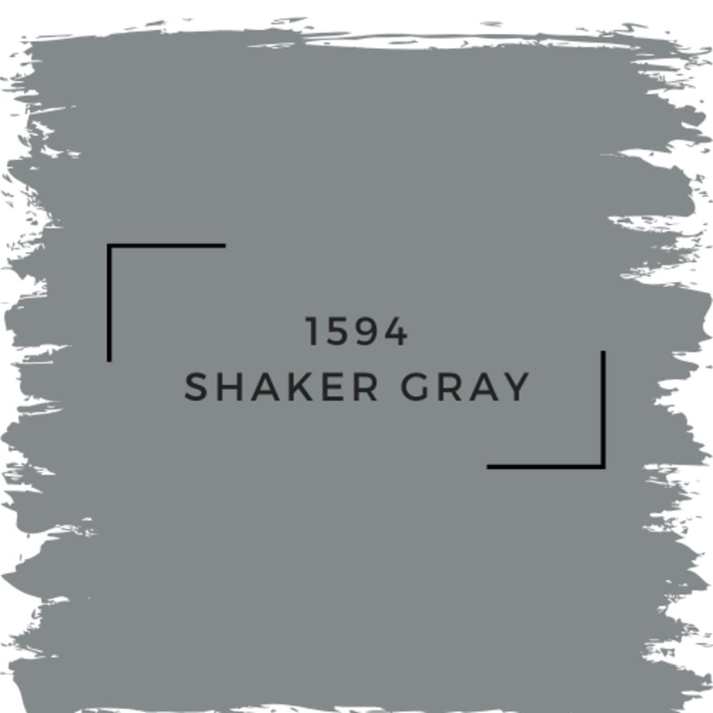 Benjamin Moore 1594 Shaker Gray