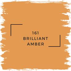 Benjamin Moore 161 Brilliant Amber