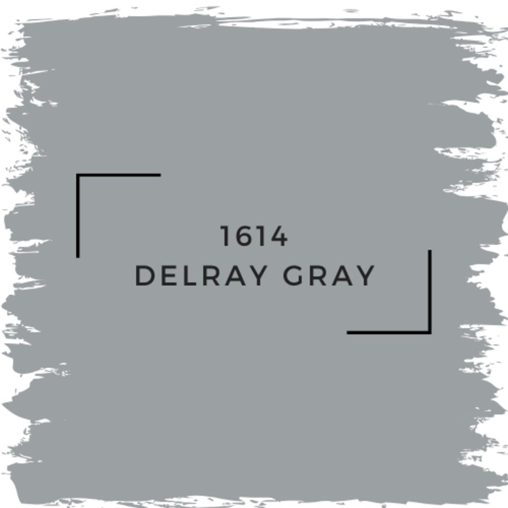 Benjamin Moore 1614 Delray Gray