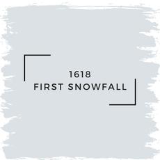 Benjamin Moore 1618 First Snowfall