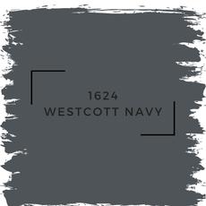 Benjamin Moore 1624 Westcott Navy