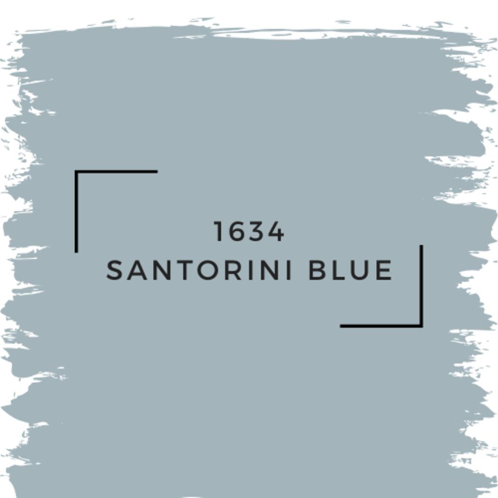 Benjamin Moore 1634 Santorini Blue
