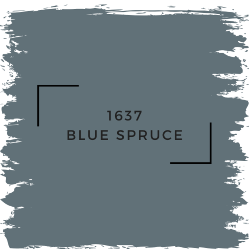 Benjamin Moore 1637 Blue Spruce