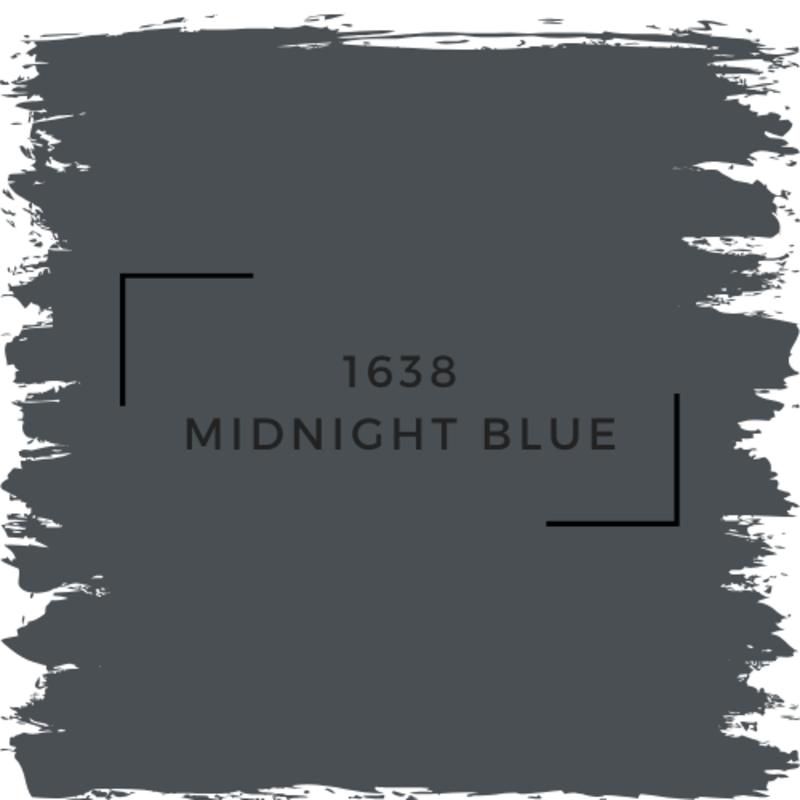 Benjamin Moore 1638 Midnight Blue