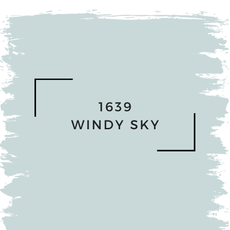 Benjamin Moore 1639 Windy Sky