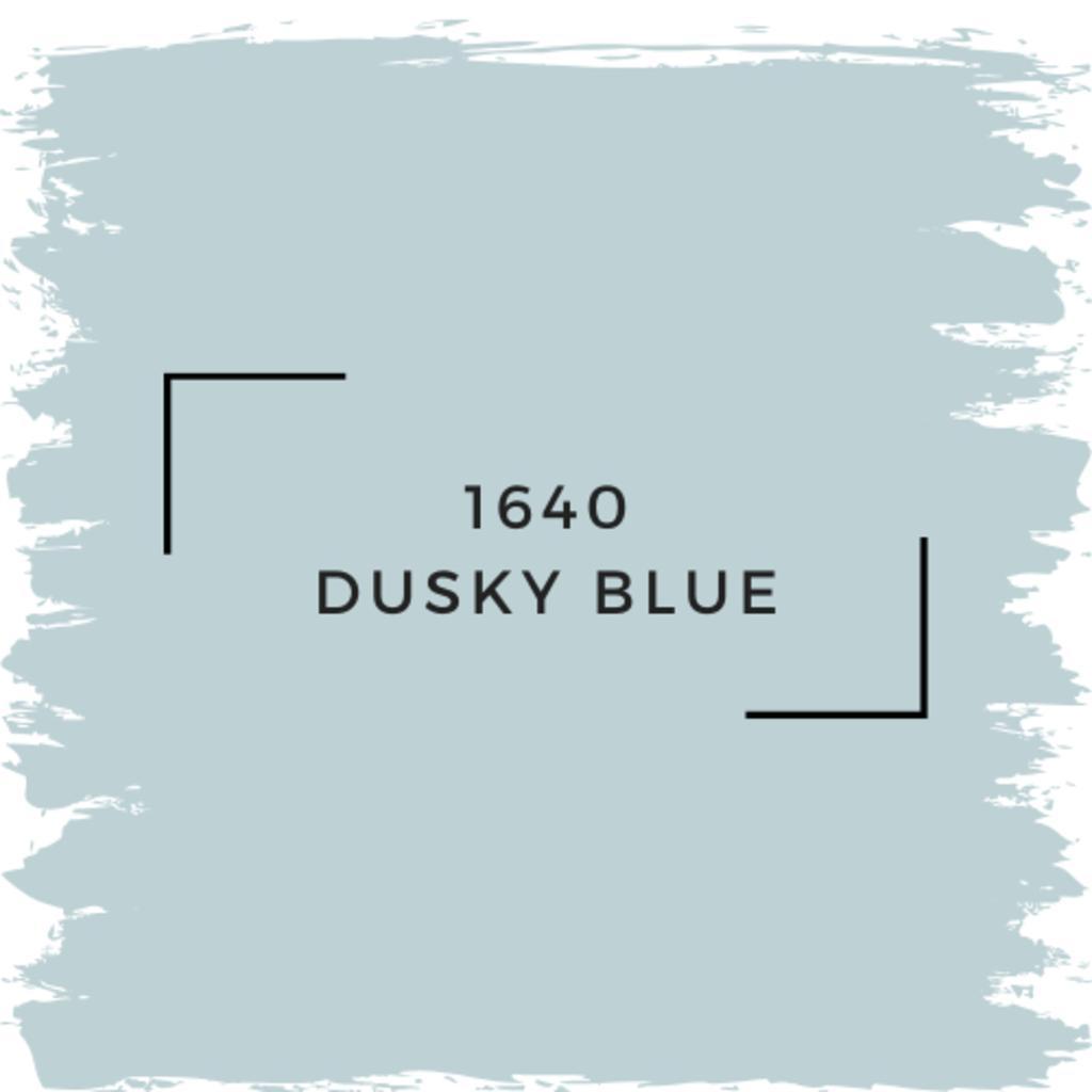 Benjamin Moore 1640 Dusky Blue