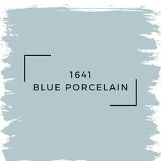 Benjamin Moore 1641 Blue Porcelain