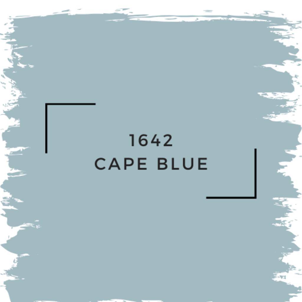 Benjamin Moore 1642 Cape Blue
