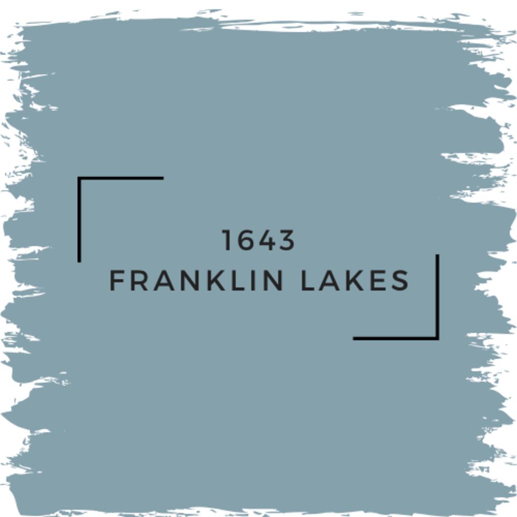 Benjamin Moore 1643 Franklin Lakes