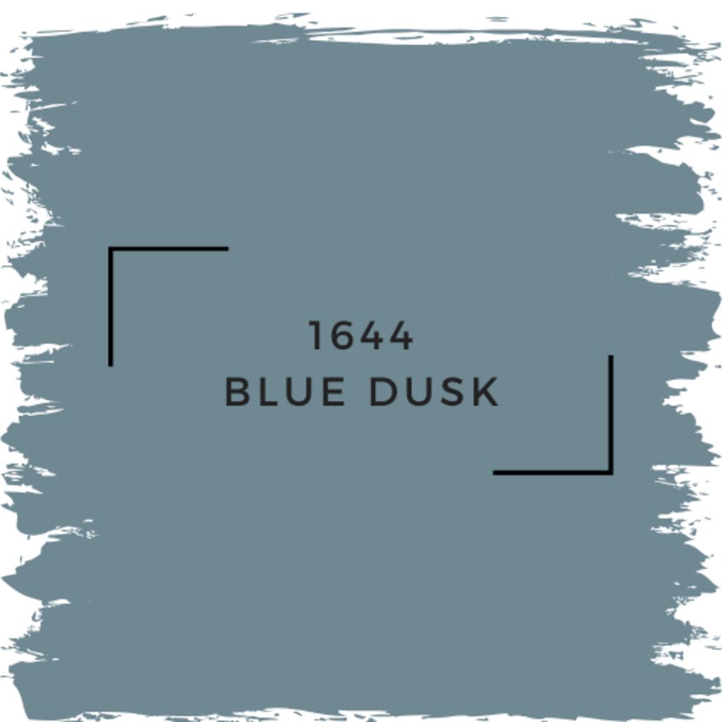 Benjamin Moore 1644 Blue Dusk