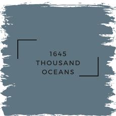 Benjamin Moore 1645 Thousand Oceans