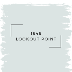 Benjamin Moore 1646 Lookout Point