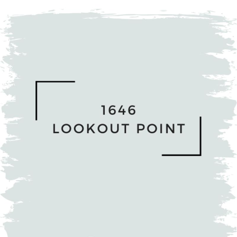 Benjamin Moore 1646 Lookout Point