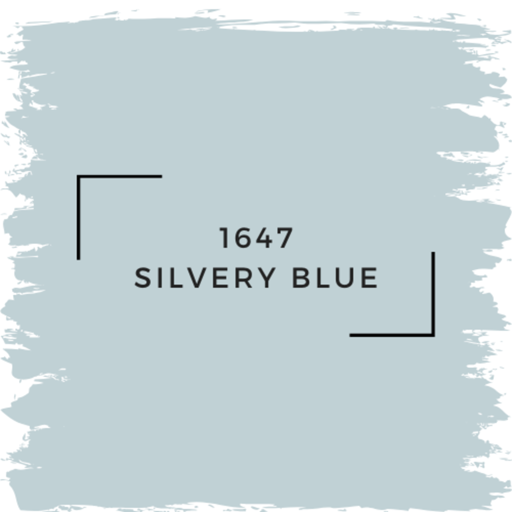 Benjamin Moore 1647 Silvery Blue