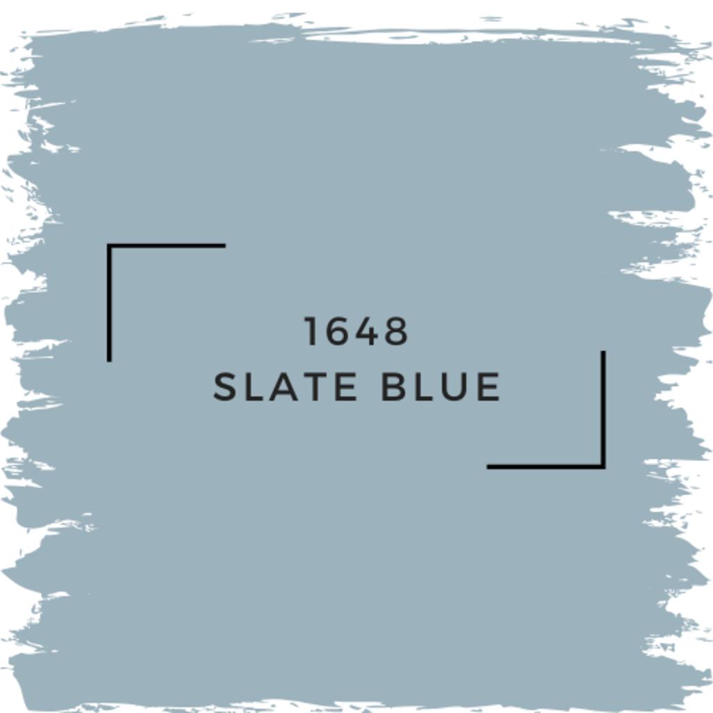 Benjamin Moore 1648 Slate Blue
