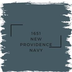 Benjamin Moore 1651 New Providence Navy